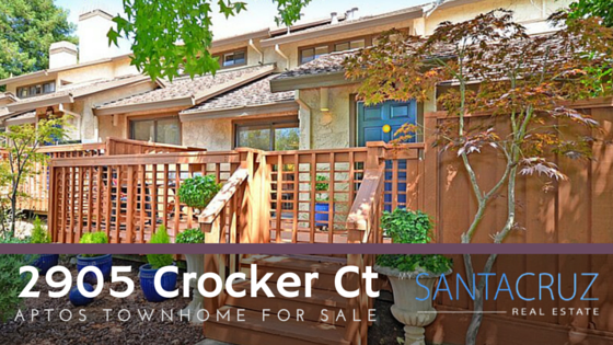 Aptos townhome for sale