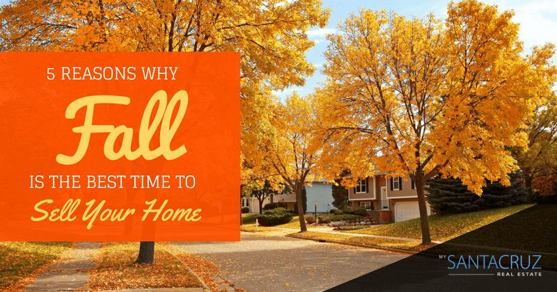 reasons to sell your home in the fall