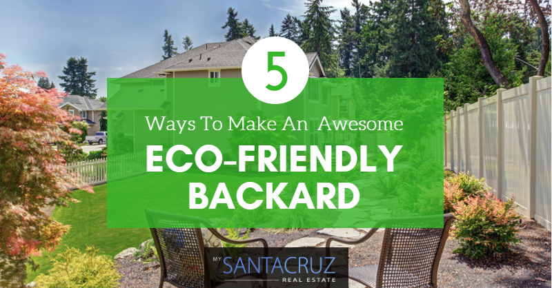 eco-friendly backyard