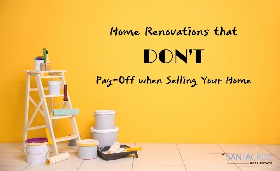Home renovations that don't pay off