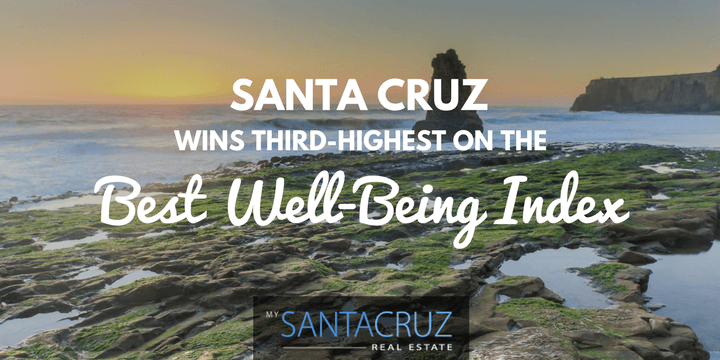 Santa Cruz has the third-highest wellbeing in the country
